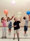 Screenshot of video: Balloon bounce