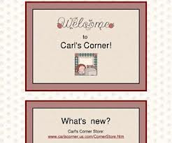 Carl's Corner - a great range of free printable resources to develop comprehension skills