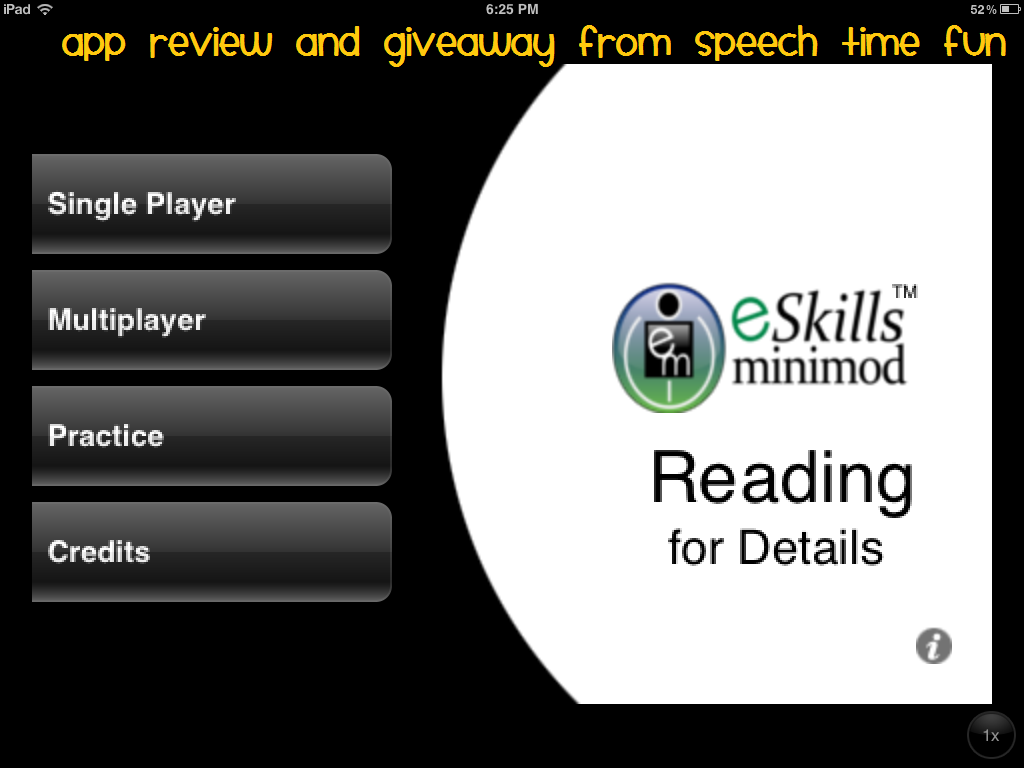 MiniMod Reading for Details Lite- Comprehension