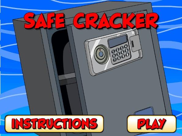 Safe cracker- auditory memory game