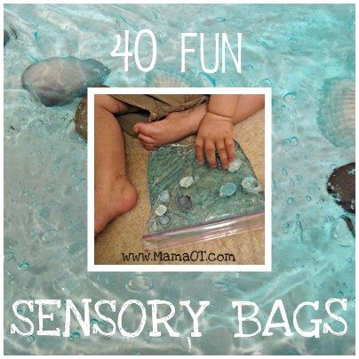 40 Fun Sensory Bags